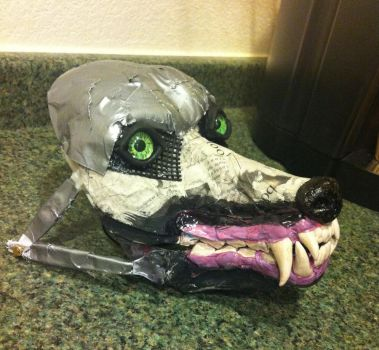 Wolf Mask Base 2 by SabrePanther