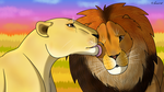 How I Draw A: Lion and Lioness (request) by horse14t