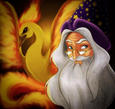 HP Pokemons - Dumbledore by uppuN