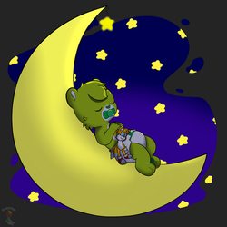 Hush little Oopsie bear by tailslover42
