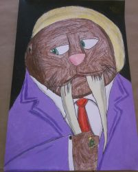 Walrus Business Man by rywilliam91
