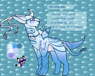 Character Reference| Namazzi by DevilsRealm