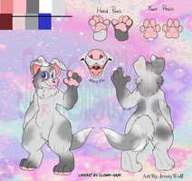 ~SOLD~ Canine Anthro Adoptable (7) by JessiyWolf