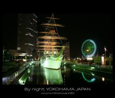 Yokohama by night -3- by Lou-NihonWa