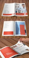 Multipurpose Modern Corporate Portfolio Brochure by env1ro