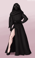 Kylo Ren goes to the Oscars by annicron