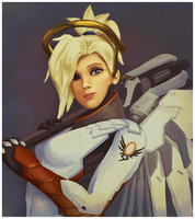 Mercy Portrait by malloryahern