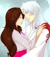 Req: Ahiko and Sesshomaru by FAshi0nAblii-LAt3
