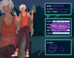 Indieville Application: Nekyia by Onochii