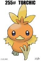 Torchic - Sugimori style by pokesafari
