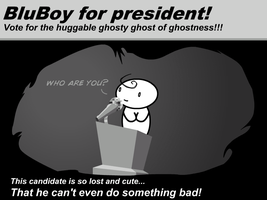 BluBoy For president -Fanart- by Germille