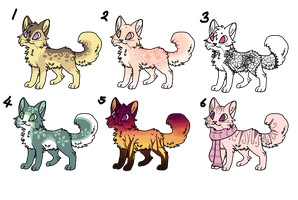 adoptables batch by crystalclearr