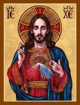 Sacred Heart of Jesus icon