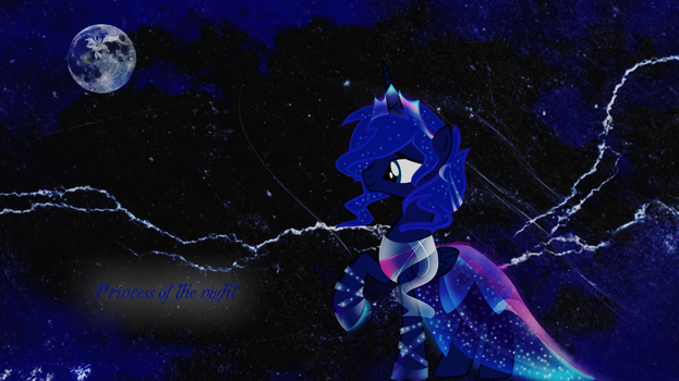 The princess of the night by LeonBrony