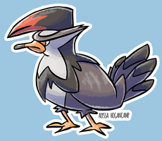 #398 Staraptor by little-ampharos