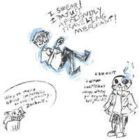Zacharie Makin a 1st Impression on the Neighbors by Chiming-Ribbon