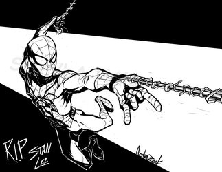 Spiderman by AstroZerk