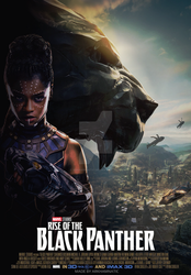 Rise of the Black Panther movie poster by ArkhamNatic