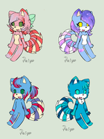 Owl City Lemurhusky Adopts :CLOSED: by Paige-the-unicorn