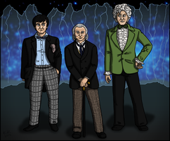 The Three Doctors by Weaselon