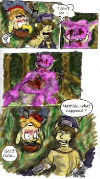 Two Idiots in a forest - Part 3 by Blue-Aqua-san95
