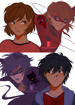ML Penniro: The Miraculers by DAsKeTcHeRZ
