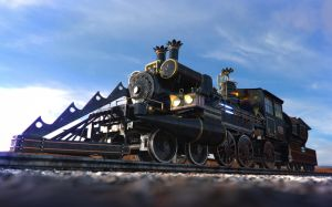 Train Jules Vernes render 1 by Zlydoc