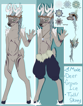 January Creature Exchange Syrcaid Winter Deer by ToxicDL