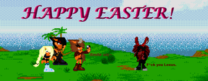 Happy Easter!!! ^^ by YunaiSoulWolf
