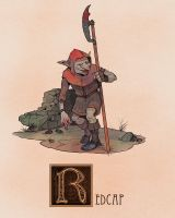 R is for Redcap by Deimos-Remus