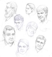 Faces by Feael