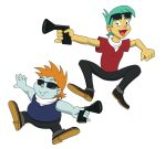 Snips and Snails Bonanza Brothers by mayorlight