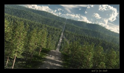 Road to the Clouds by ArthurBlue