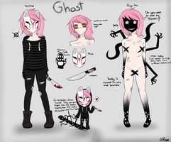 HORROR OC-GHOST //FOR SALE// by RAZORwantsPIZZA