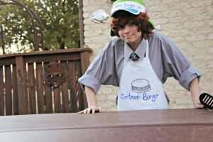 Welcome to Cartman Burger by DascocoCosplay
