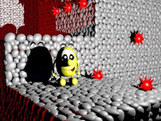 Speedy Eggbert 3D by MatiZ1994
