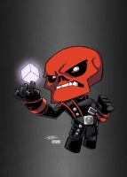 LBH Red Skull by KidNotorious by VPizarro626