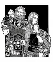 Thor and Sif by plt25