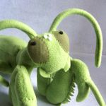 Mantis close up by WeirdBugLady