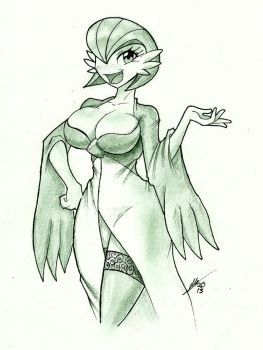 Gardevoir by Sexual-Yeti