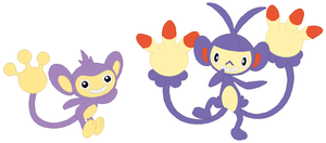 Aipom and Ambipom Base