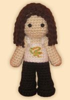 Amigurumi Maureen from RENT by ShadyCreations