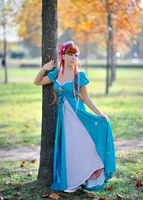 Giselle in blue by LadyGiselle