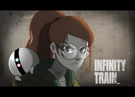 Infinity Train / The Last Of Us by TheGraffitiSoul