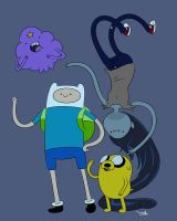 Adventure Time by J-u-h