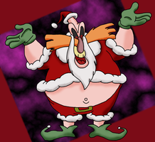 Old style Robotnik  Xmas by vger