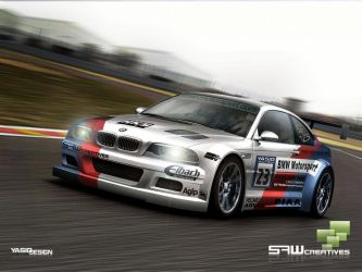 BMW M3GTR race yasidDesign by yasiddesign