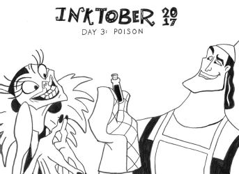 Inktober-3 by PrinceChartreuse