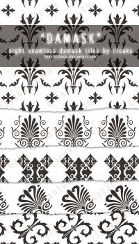 Damask Tiles Pack by cloaks