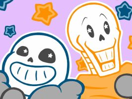 Pop Drop Candy Papyrus+Sans by Crystalitar